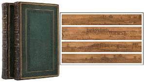 [DOUBLE FORE–EDGE PAINTING] BYRON, Lord George Gordon