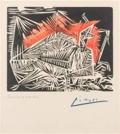 PICASSO, Pablo (1881–1973). Le Pigeonneau, artist proof