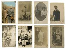 Over 18 Real Photo Postcards of African American
