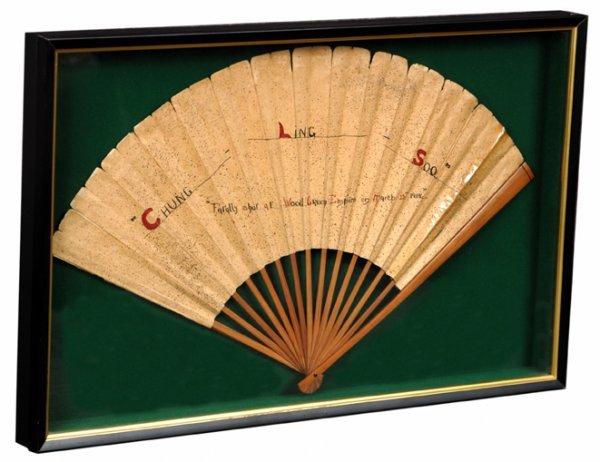 265: Chung Ling Soo's Fan