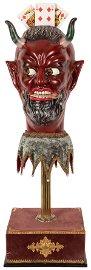Demon's Head or Satyr Head. Flein: Rüdiger