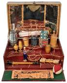 Physique Magic Set France 1880s Handsome and large
