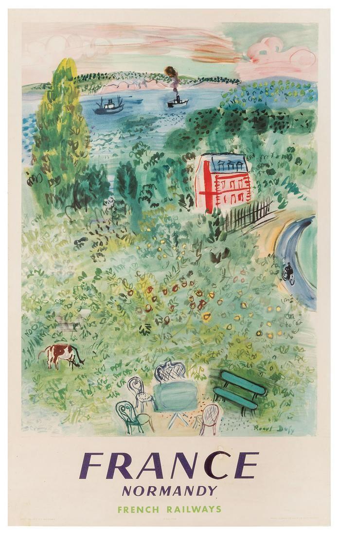Dufy, Raoul (1877–1953). France / Normandy.
