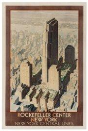 Ragan, Leslie (1897-1972). Rockefeller Center New York