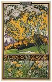 Spradberry, Walter E. (1889-1969). Green Line / Flowers