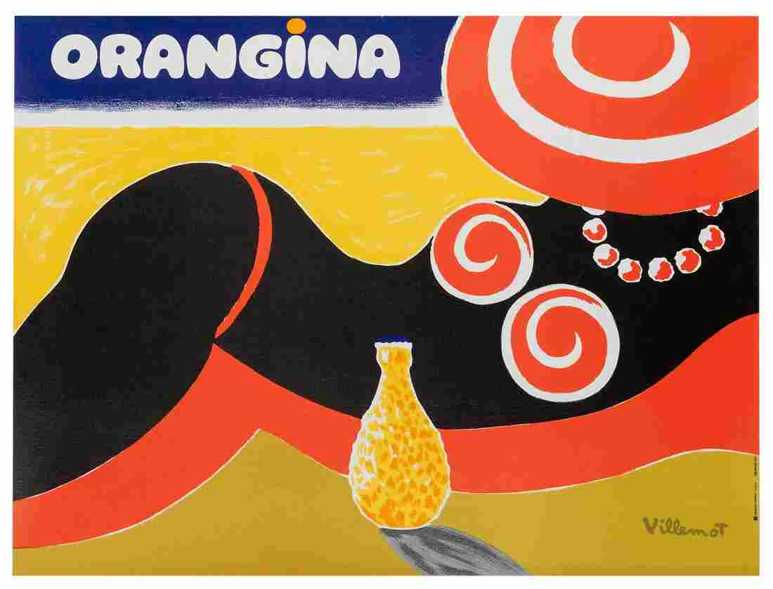 Villemot, Bernard (1911-1989). Orangina. France: