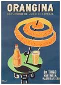 Villemot, Bernard (1911-1989). Orangina. Barcelona: