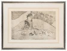Gauguin Paul 18481903 La Femme aux Figures