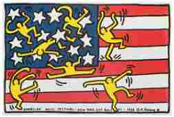 Haring, Keith (1958–1990). American Music