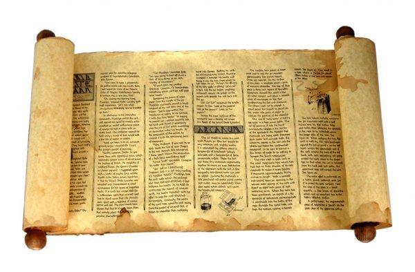 10: The Legendary Scroll of Masklyn Ye Mage