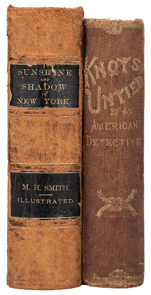 [Crime] Pair of Titles on Early Crime in America.