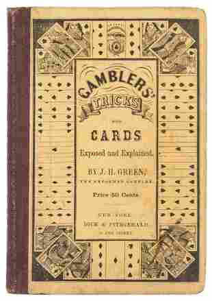 Green, J.H. Gamblers' Tricks with Cards. New