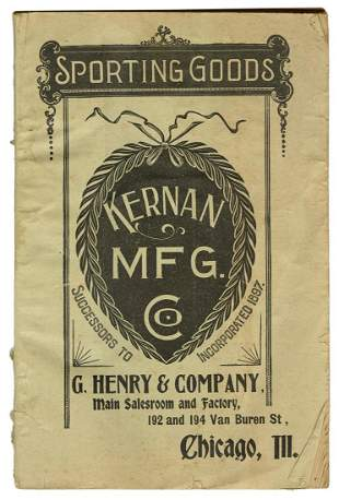 Kernan Mfg. (Successors to G. Henry) Sporting Goods