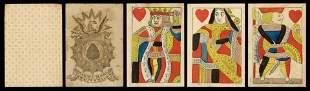 Carmichael, Jewett & Wales Playing Cards. American, ca.
