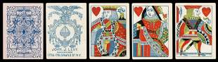 Jno. [John] J. Levy Playing Cards. New York, ca. 1860s.