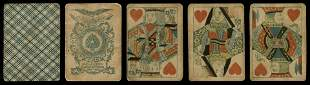 Jno. [John] J. Levy Playing Cards. New York, ca. 1865.