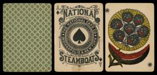 National Card Co. Steamboats Playing Cards.