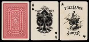 "NYCC ""Free Lance"" No. 915 Playing Cards."