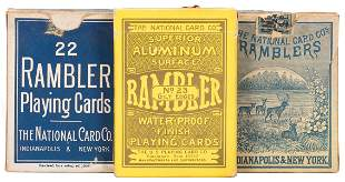 "Three National Card Co. ""Rambler No. 22"""
