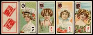 Willis Beauties Tobacco Insert Cards. Bristol: W. D. &