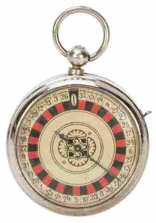 Roulette Pocket Watch in Original Box. German, early