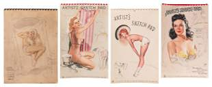 (Pinup) Lot of 4 Pinup Calendars. Including (3) ""