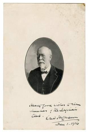 Hoffmann, Professor (Angelo Lewis). Portrait of