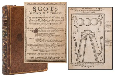 Scot, Reginald. The Discovery of Witchcraft.