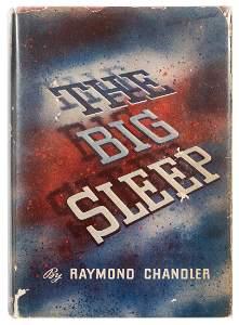 CHANDLER, Raymond (1888–1959). The Big Sleep. New York: