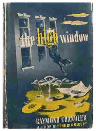 CHANDLER, Raymond (1888–1959). The High Window. New