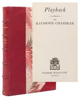 CHANDLER, Raymond (1888–1959). Playback. London: Hamish
