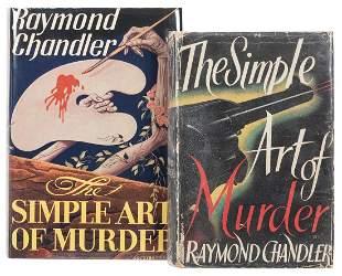 CHANDLER, Raymond (1888–1959). The Simple Art of
