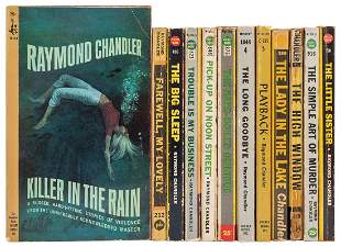 CHANDLER, Raymond (1888–1959). Twelve Early Pocket Book