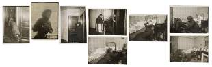[CRIME]. Eight Photographs of a Female Thief by