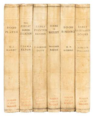 [BOOKS ABOUT BOOKS]. POLLARD, Alfred William