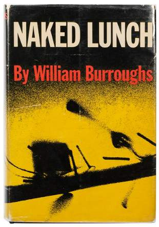 BURROUGHS, William S. (1914–1997). Naked Lunch. New