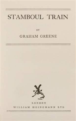 GREENE, Graham (1904–1991). Stamboul Train. London: