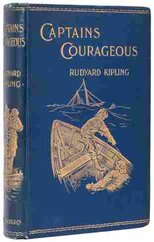 KIPLING, Rudyard (1865–1936). Captains Courageous: A