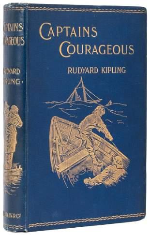 KIPLING, Rudyard (1865–1936). Captains Courageous: A