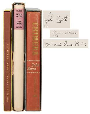 [LITERATURE]. Three Signed Limited-Edition Titles.