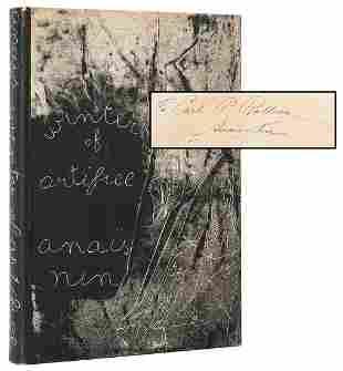 NIN, Anaïs (1903–1977). Winter of Artifice. [New York: