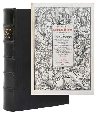 [PRAYER BOOK]. BYFIELD, Mary (1795–1871), illustrator.