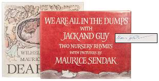 SENDAK, Maurice (1928-2012). Pair of Signed Titles.