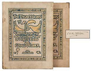 VEDDER, Elihu (1836–1923). The Digressions of V. Boston