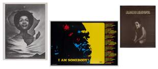 Three Black Empowerment Posters. Including: BRUCE,
