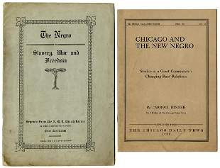Two African American Related Jim Crow Era Pamphlets.