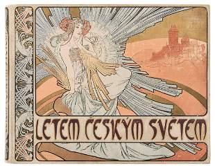 MUCHA, Alphonse (1860-1939). Letem Ceskym Svetem. [A