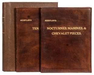 WHISTLER, James McNeil (1834–1903). Two Titles: 1. Ten