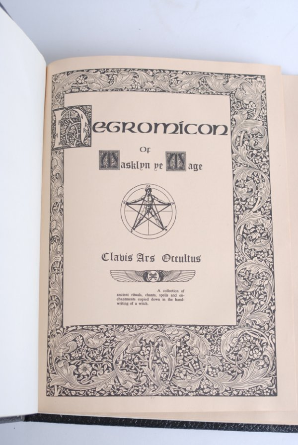 5: T. Andruzzi's The Negromicon of Masklyn Ye Mage. - 2