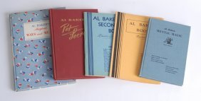 6: Al Baker's Collection of five volumes, three signed.